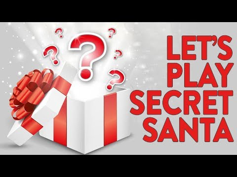 A MYSTERY GIFT FROM KINDA FUNNY! (Let's Play Secret Santa)