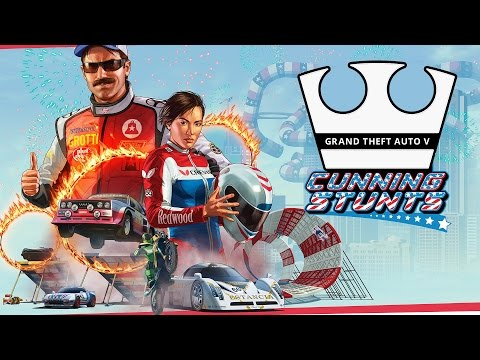 Jirka a GEJMR Hraje - GTA V Online - Cunning Stunts [PC] [LIVE]