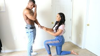 WILL YOU MARRY PRANK ON BOYFRIEND! (PRANK GONE WRONG, HE PROPOSED!)