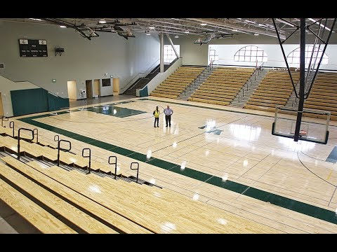 Inside The New Peery Family Center Gym