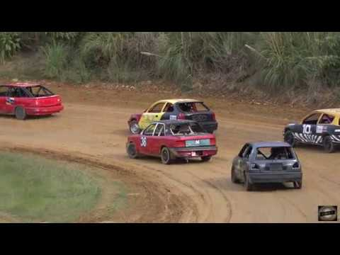 Whangarei speedways final meeting for the season 27th april 2019. - dirt track racing video image
