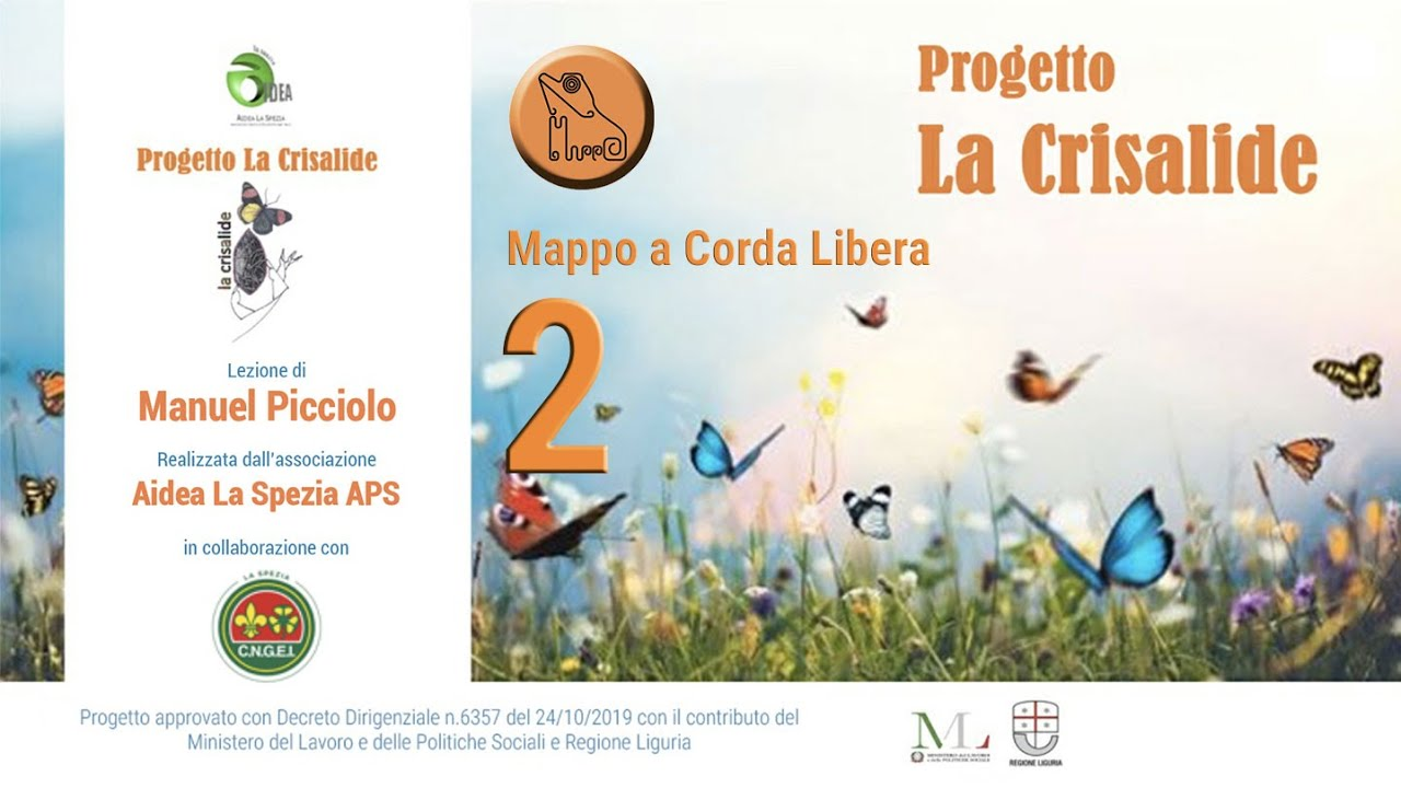 """Progetto """"La crisalide"""" - MAPPO a Corda Libera - 2 - Manuel Picciolo"""