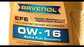 Результаты теста RAVENOL EFE 0W 16 в реальных условиях эксплуатации