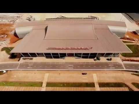l'aéroport de lomé / le Nouveau Terminal de Lomé (Togo)