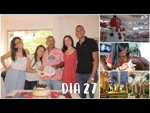 Alumbrados navideños en Medellín + Cumpleaños 60 de mi papá│Vlog #27
