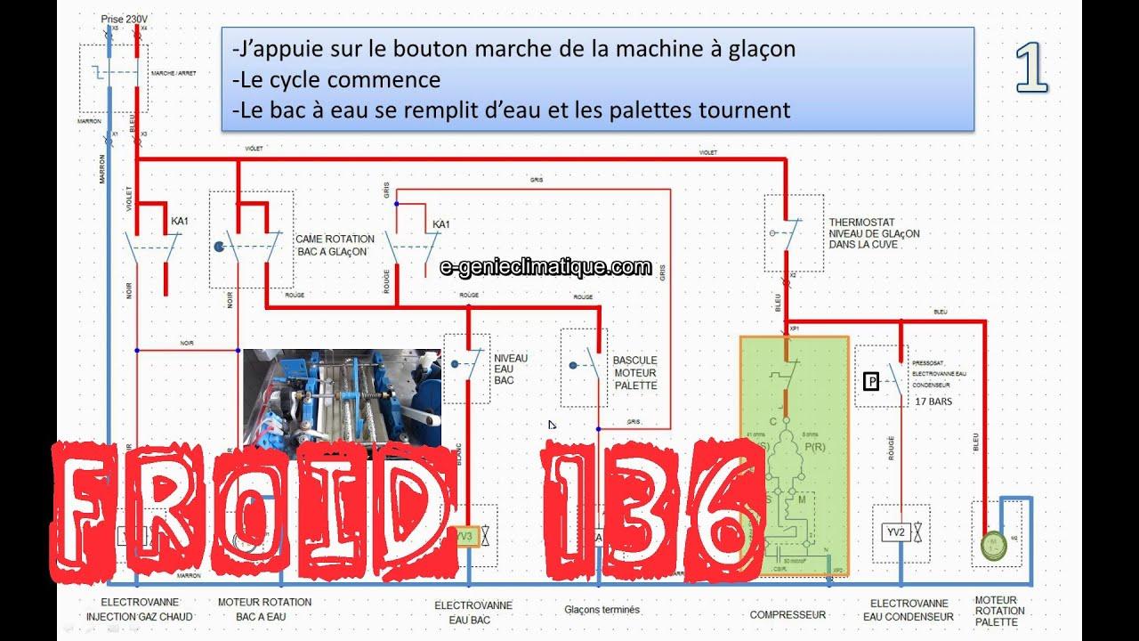 froid136 machine gla on palettes avec condenseur eau. Black Bedroom Furniture Sets. Home Design Ideas