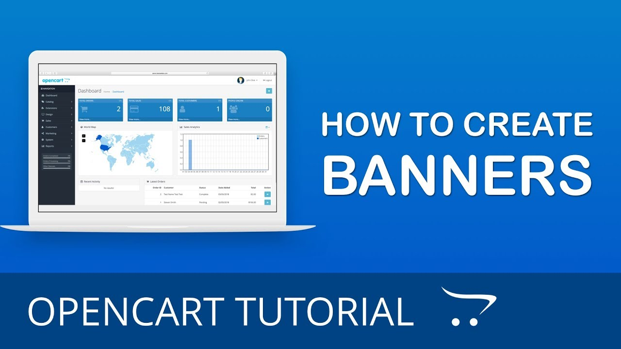 How to Create and Customize Banners in OpenCart 3 x