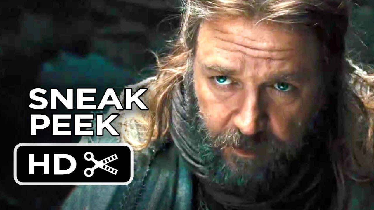 Noah Extended Sneak Peek Teaser (2013) - Russell Crowe ...