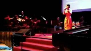 Aswara student performing Malaysian traditional songs - Patah hati