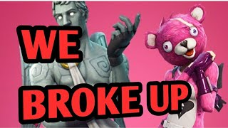 CRAZY EX GIRLFRIEND Breaks up with me over Fortnite: Battle Royale While I buy NEW SKINS