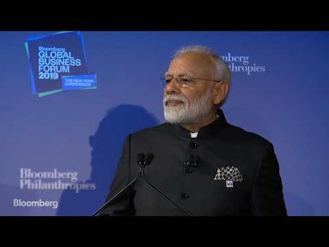 PM Modi Says India Targeting $5 Trillion Economy