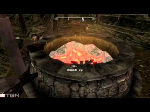 Skyrim - Best IRON ORE spot in Skyrim! (Skyrim Gameplay)