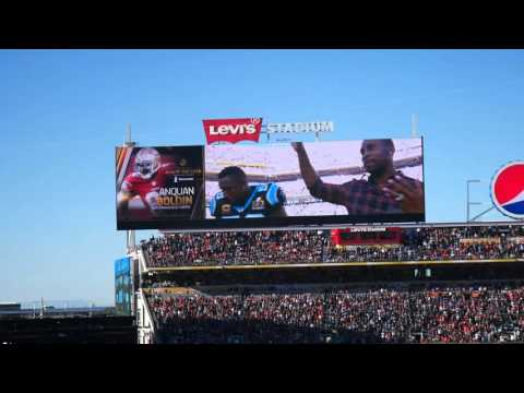 Anquan Boldin announced as Walter Payton NFL Man of the Year