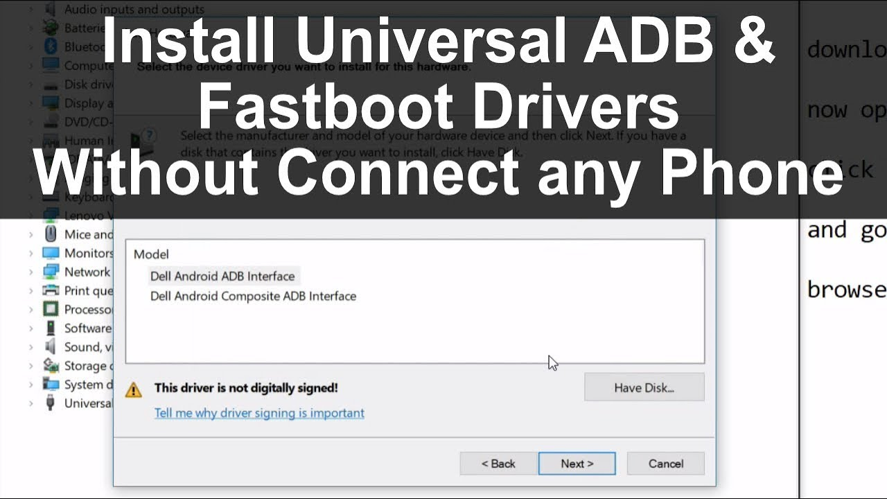 install fastboot bootloader interface adb android driver for any xiaomi