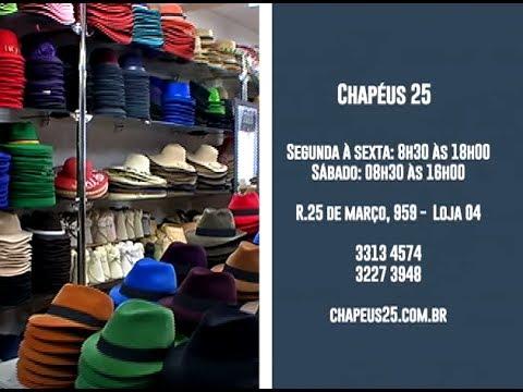 Espaço Mix - Chapéus 25 - YouTube 955af82274d