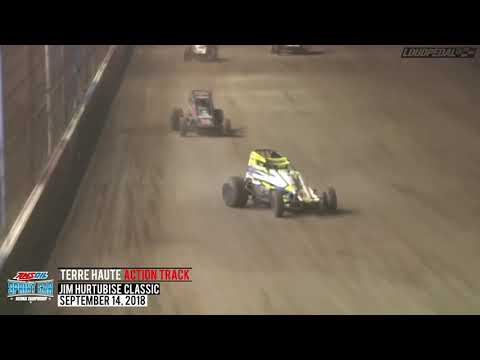 "USAC ""Jim Hurtubise Classic"" Sprint Car Highlights 
