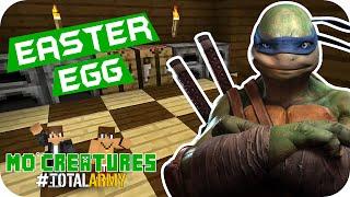 Minecraft: Mo Creatures - Easter Egg Tartarugas Ninja #09