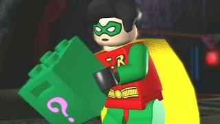 LEGO Batman: The Video Game Walkthrough - Episode 1-5 The Riddler's Revenge - The Face-Off