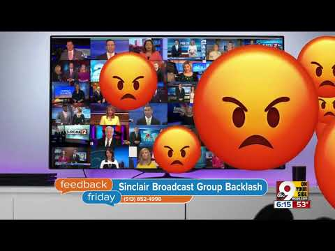 Feedback Friday: Just to be sin-clear, we're not Sinclair