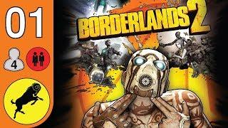 Borderlands 2 (PC) - ITA Ep01 - Coop in 4 - Un nuovo inizio