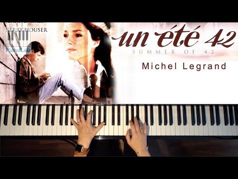 été 42 (Summer 42) - Michel Legrand - piano cover