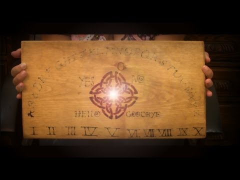 How to build and charge a Ouija Board