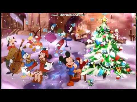Disney's Countdown to Christmas DVD