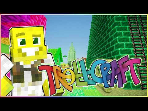 MY BIG GREEN MEAN THEMEPARK | TrollCraft | Ep.33