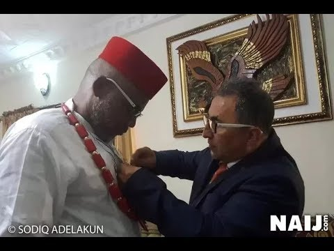 Nnamdi Kanu's brother reveals why Turkish diplomat visited the IPOB leader