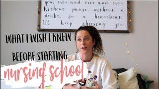 10 Things I Wish I Knew Before Nursing School 2019