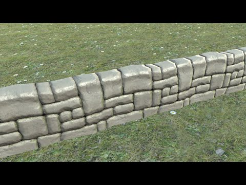 Stone wall timelapse.