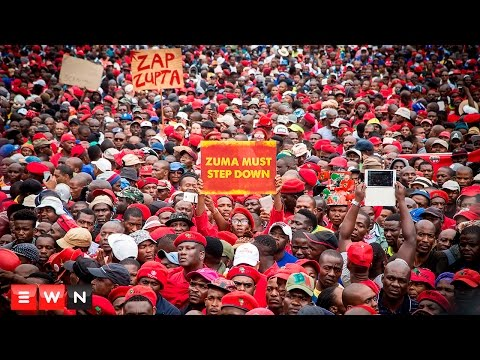 Tens of thousands march for Zuma's resignation