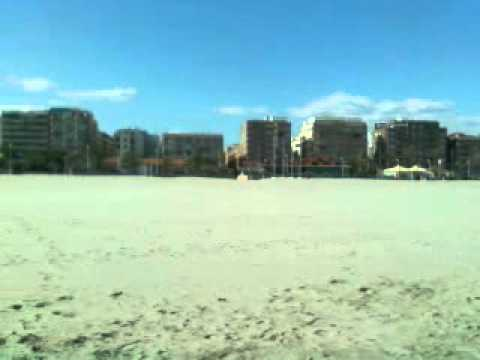 Sagunto beach (playa Sagunto) Valencia Spain