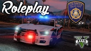 GTA 5 Roleplay - Project Life RP LSPD 1 -  Learning The Ropes