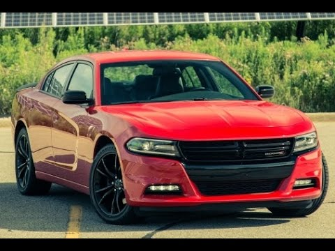 2017 Dodge Charger SXT Blacktop :| Review - YouTube