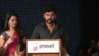 Actor Vimal at Thoppi Musical Track Release