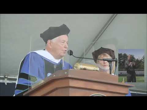 Bill Cummings Speaking at Endicott College Commencement