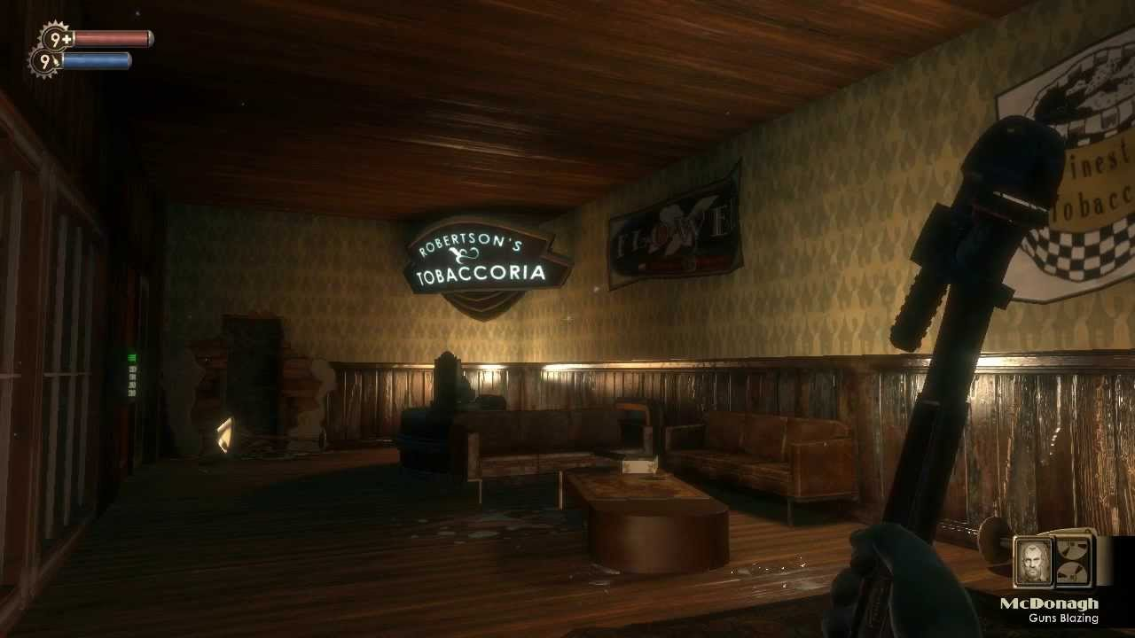 Bill McDonagh Bill McDonagh Guns Blazing BioShock Audio Diary HD