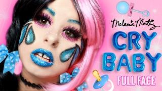 "Melanie Martinez - ""Cry Baby"" Inspired Full Face Using ONLY Glitter, Sparkle & Shimmer!"