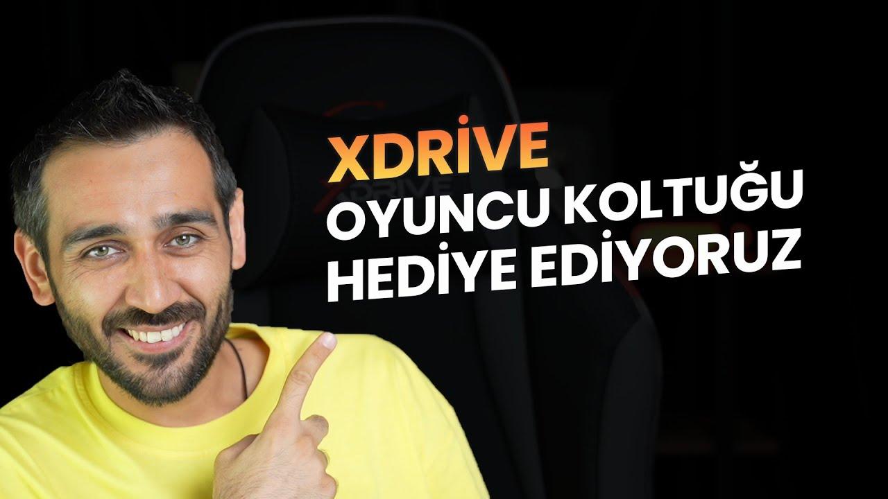 1 Kişiye xDrive Oyuncu Koltuğu Hediye Ediyoruz