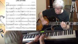 Love Letters - Jazz guitar & piano cover ( Victor Young ) Yvan Jacques