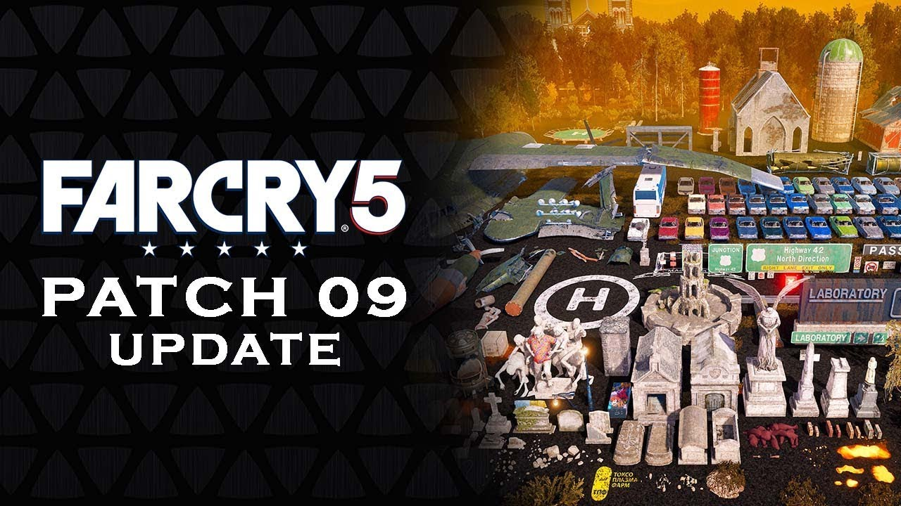 FAR CRY 5 - PATCH 09 UPDATE | Details on new update [FC5] patch update 09