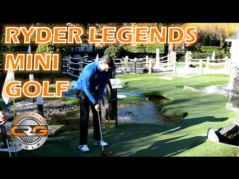 RYDER LEGENDS MINI GOLF AT THE BELFRY