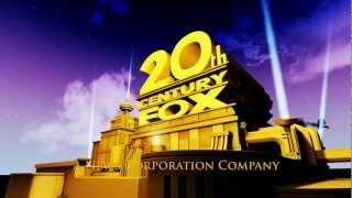 20th Century Fox Intro [Cinema 4D] 3.1