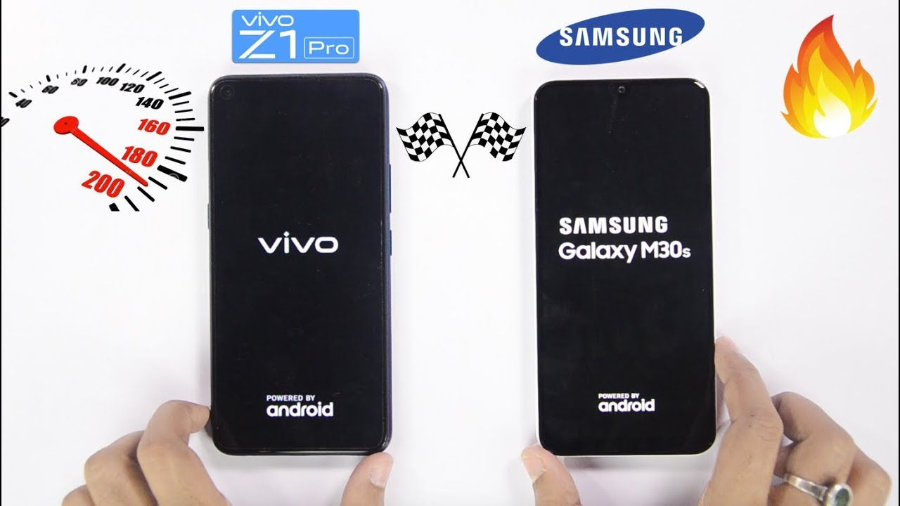 Samsung Galaxy M30s vs Vivo Z1 Pro Speedtest Comparison & RAM Management