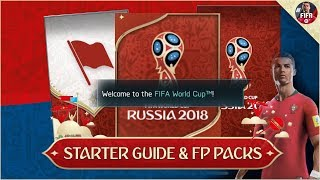 FIFA MOBILE WORLD CUP STARTER GUIDE & VARIOUS FP PACKS OPENED #FIFAMOBILE HOW TO PLAY WORLD CUP