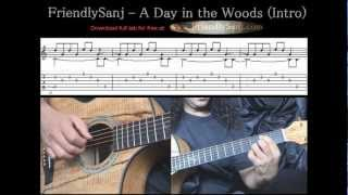 Guitar Tutorial 8 - FriendlySanj - A Day in the Wo