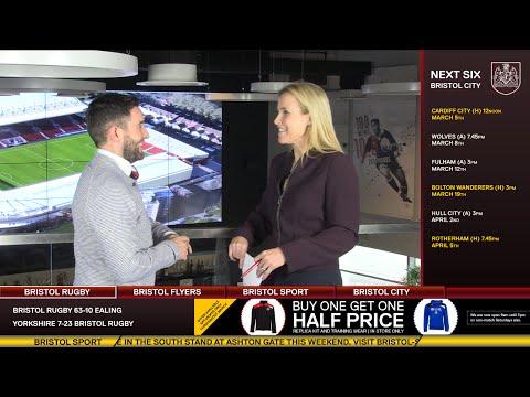 Bristol Sport TV - Lee Johnson On Severnside Derby