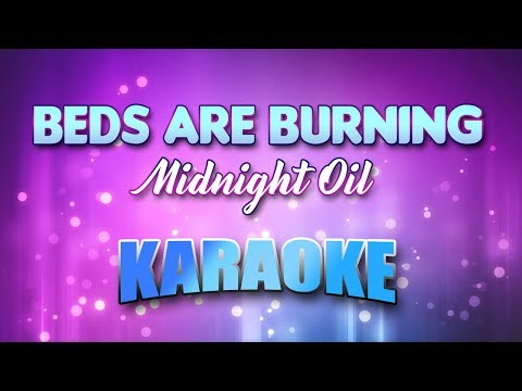 Midnight Oil - Beds Are Burning (Karaoke version with Lyrics)