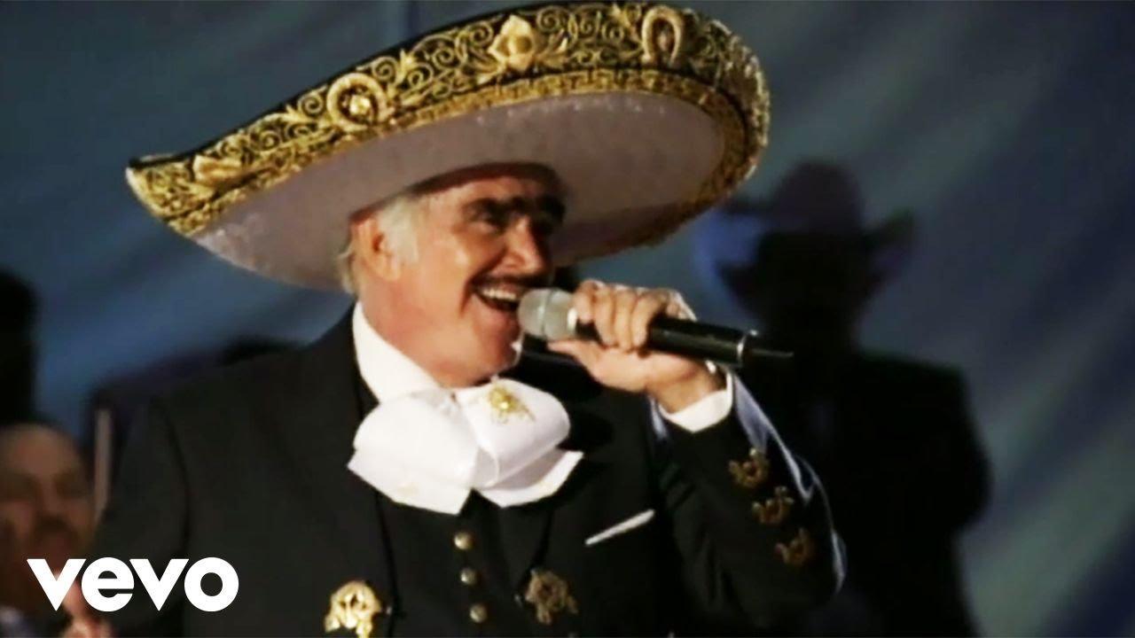 Vicente Fernández Cruz De Olvido En Vivo Youtube